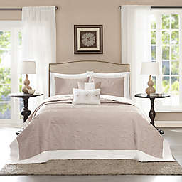 Madison Park Ashbury 5-Piece  Reversible Bedspread Set
