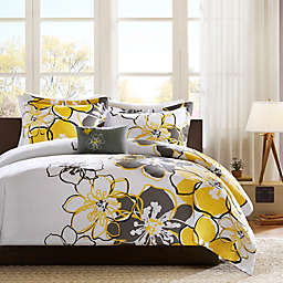 Mi Zone Allison Twin/Twin XL Duvet Cover Set in Yellow