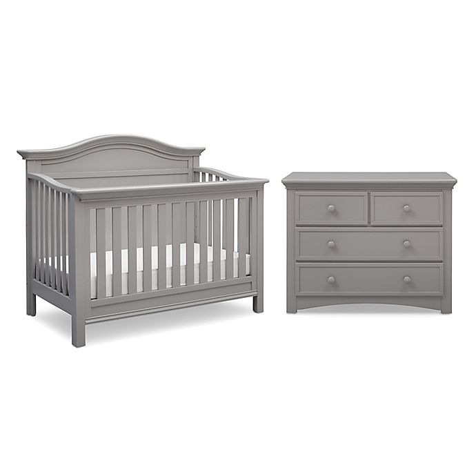 Alternate image 1 for Serta® Bethpage Nursery Furniture Collection in Grey