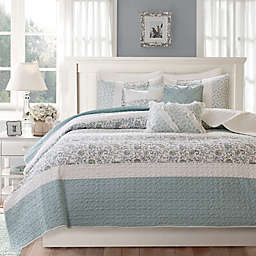 Madison Park® Dawn 6-Piece King/California King Coverlet Set in Blue