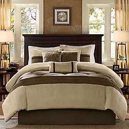 Madison Park® Palmer 7-Piece Full Comforter Set in Natural