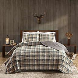 Woolrich® Tasha 3-Piece Reversible King/California King Quilt Set in Tan