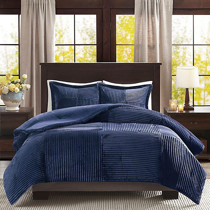 Alternate image 1 for Premier Comfort Parker Corduroy 3-Piece Comforter Set