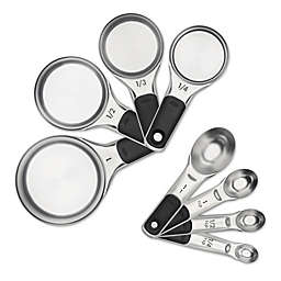OXO 8-Piece Stainless Steel Measuring Cup/Spoon Set