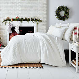 Bee & Willow™ Waffle Grid 3-Piece Duvet Cover Set