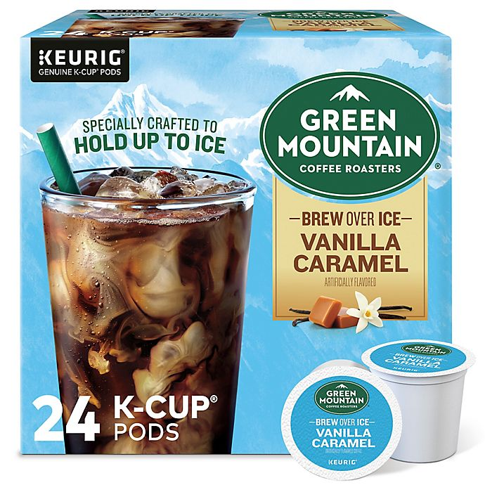 Alternate image 1 for Green Mountain Coffee® Brew Over Ice Vanilla Caramel Keurig® K-Cup® Pods 24-Count