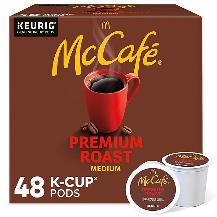 Alternate image 1 for McCafe® Premium Roast Coffee Keurig® K-Cup® Pods 48-Count