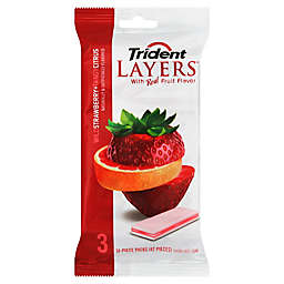 Trident Layers® 3-Pack Sugar Free Gum in Wild Strawberry & Tangy Citrus
