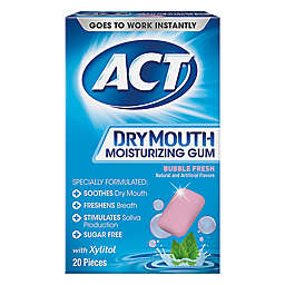ACT® 20-Count Dry Mouth Moisturizing Gum in Bubble Fresh