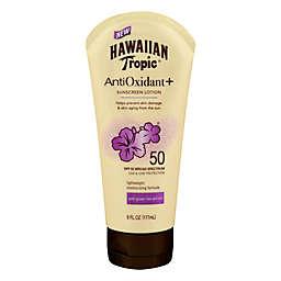 Hawaiian Tropic® 6 fl. oz. Antioxidant + Sunscreen Lotion SPF 50