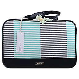 Allegro Two-Tone Stripe Weekender