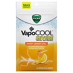 Vicks® VapoCOOL™ SEVERE 18-Count Medicated Drops in Honey Lemon Chill