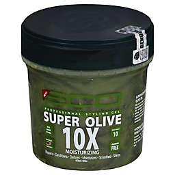Eco Style 16 oz. Super Olive Professional Max Hold 10X Moisturizing Styling Gel