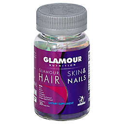 Glamour Nutrition 30-Count Hair Skin & Nails Capsules