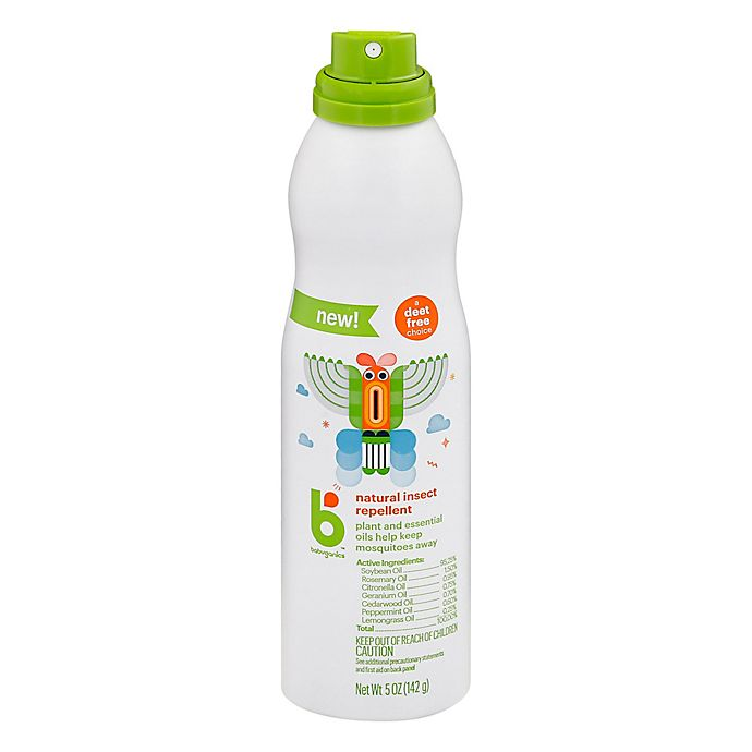 Alternate image 1 for Babyganics® 5 oz. Insect Repellent Continuous Spray