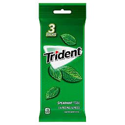 Trident 3-Pack Sugar Free Gum in Spearmint