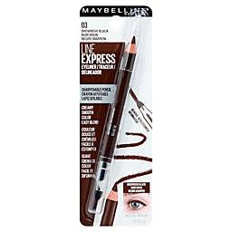 Maybelline® Line Express® Sharpenable Wood Pencil Eyeliner in Brownish Black