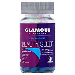 Glamour Nutrition 30-Count Beauty Sleep Capsules