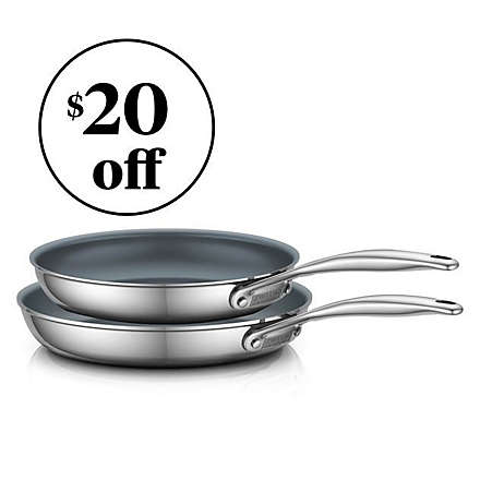 Save on Zwilling® J.A. Henckels 2-Piece Fry Pan Set. Shop Now